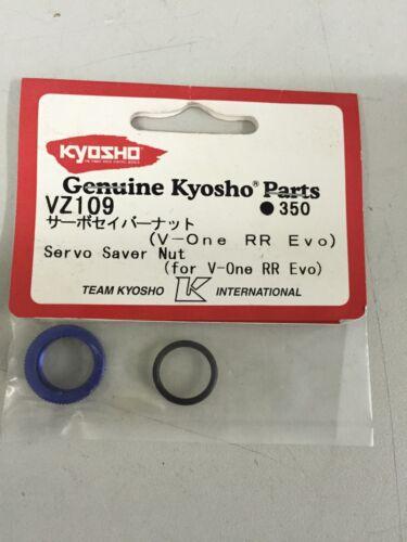 KYOSHO vz109 Servo Saver Nut Blue