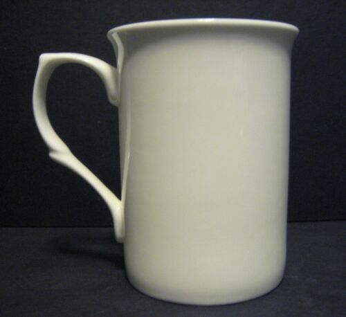 SCANIA YELLOW// BLUE TIPPER TRUCK WAGON  fine bone china mug cup beaker