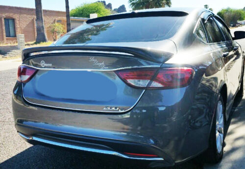 PAINTED CHRYSLER 200 FACTORY STYLE SPOILER 2015-2017