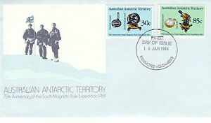 AUSTRALIA-AAT-16-JANUARY-1984-EXPEDITION-ANNIVERSARY-OFFICIAL-FIRST-DAY-COVER-SH