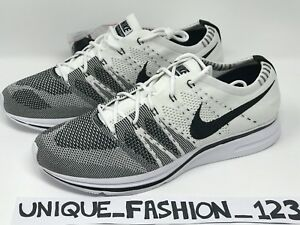 NIKE FLYKNIT TRAINER THE RETURN WHITE BLACK UK 4 5 6 7 8 9 10 11 12 ...