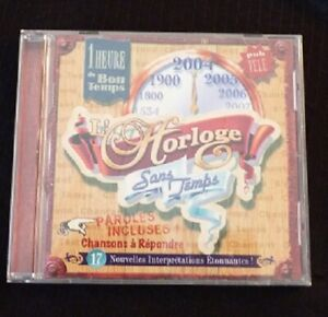 Audio-CD-L-039-horloge-Sans-Temps-Chansons-a-Repondre-Teledisc-Canada-Records