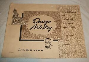 Fo Baird Diy Art Craft Leather Portfolio Tool Pattern Design
