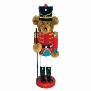image is loading teddy bear toy wooden soldier christmas nutcracker 14 - Christmas Soldier