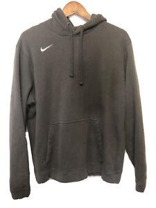 Vtg-Y2K-Nike-small-check-swoosh-hoodie-sweatshirt-Black-Travis-Scott-size-Large