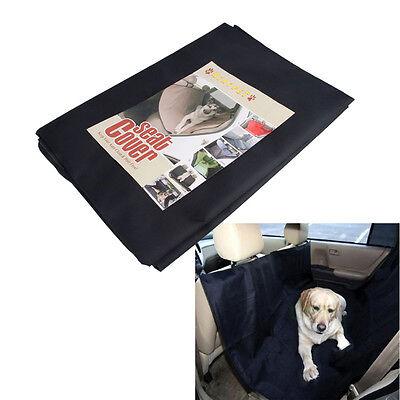 """New 51.97""""Black Heavy Duty  Waterproof Pet Dog Car Hammock Back Seat Cover"""