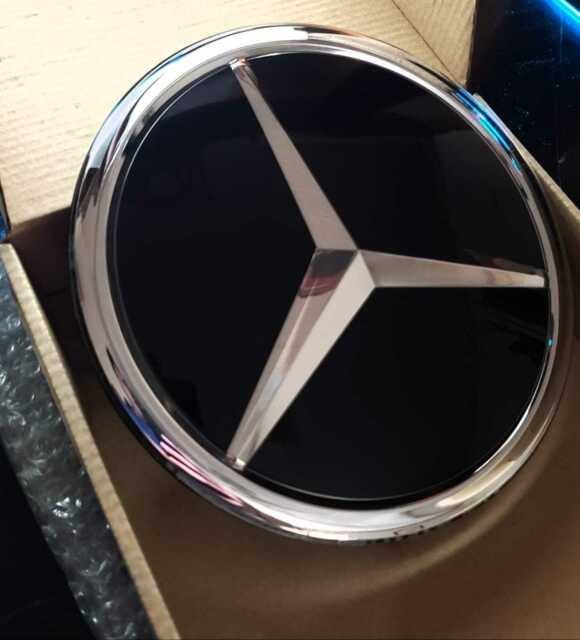 New OEM 11-17 Mercedes-Benz Front Grill Grille Emblem Badge Beam Star R Class