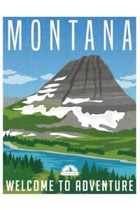 Montana-Welcome-To-Adventure-Retro-Travel-Art-Mural-Poster-36x54-inch