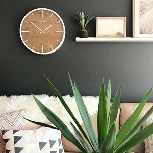 NEW-London-Clock-Company-Skog-Wall-Clock-Large-50cm-FREE-GIFT