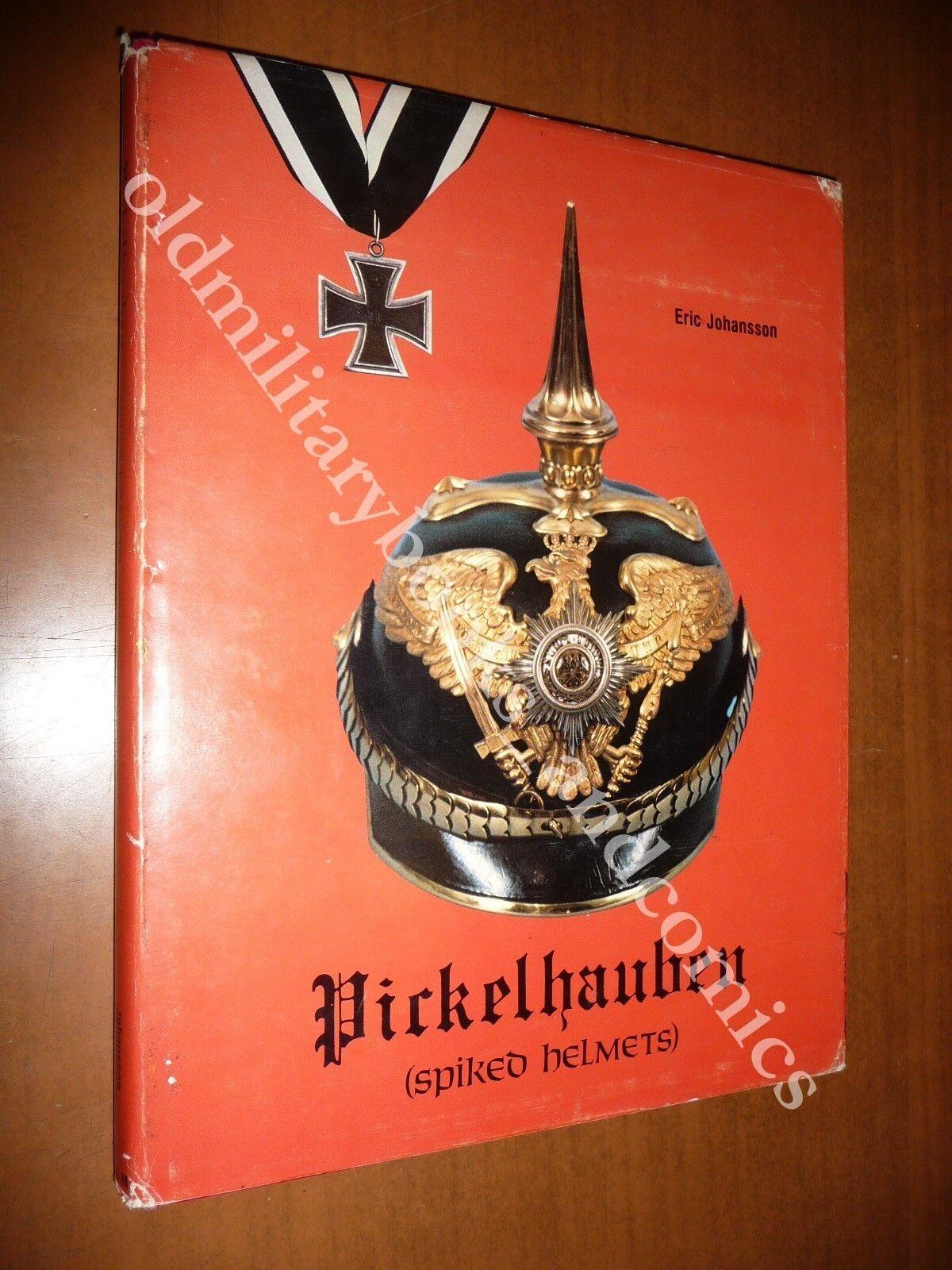 PICKELHAUBEN SPIKED HELMETS ERIC JOHANSSON 1982 ELMI A PUNTA UNIFORMI PRUSSIA