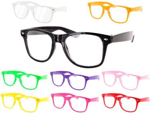 """Occhiali """"Viper"""" in stile nerd di colori diversi unisex uomo donna adulti"""