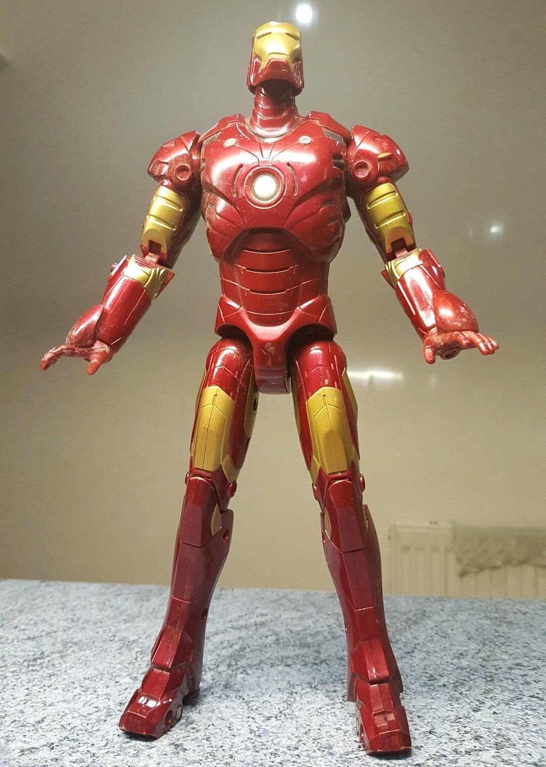 1/6 scale Iron Man Mark 3 electronic 12 inch figure from 2007