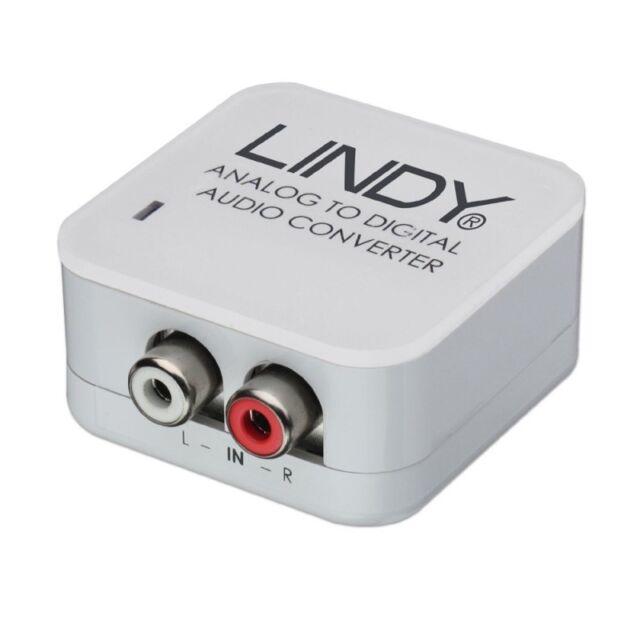 Lindy analogique stéréo à spdif digital audio converter