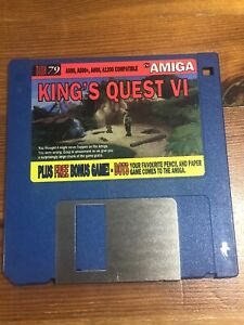 CU-Amiga-Magazine-Cover-Disk-79-King-039-s-Quest-VI-TESTED-WORKING
