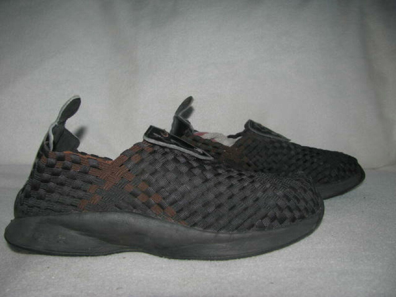 Nike Air Woven Noir /Brown Sz 6 Hommes Sneakers Athletic Chaussures 609065-021