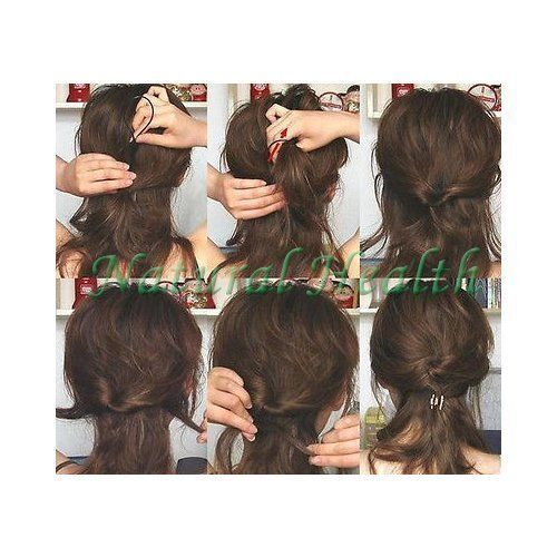 Hair Styling Tool x 2 *1 Large /& 1 Small* Topsy Tail Ponytail Braid Ladies Girls