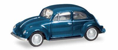 Herpa 022361-006 1//87 VW Escarabajo-azul acero-nuevo
