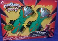 Power Rangers Jungle Fury Beast Battle Claws Disney Store Exclusive Green