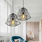 Black Chandelier Lighting Kitchen Pendant Light Hotel Lamp Modern Ceiling Lights