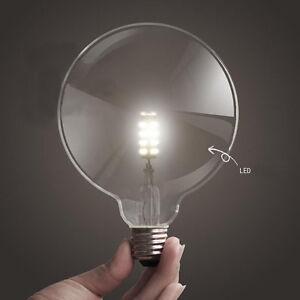 Image Is Loading Huge Led Light Bulb G125d Edison Vintage Filament