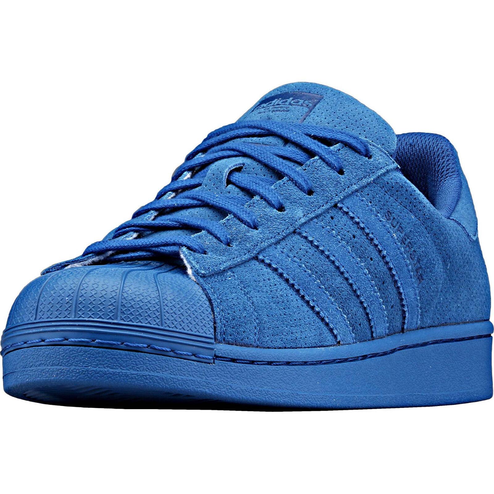 ADIDAS Originals Superstar RT AQ4165 Para hombre Zapatillas Gamuza Cuero Azul