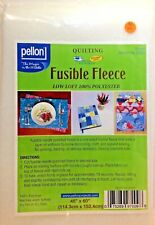 "Pellon #809 Decor-Bond 1-Sided Fusible Stabilizer 45/"" x 1yd White +2yd elastic"