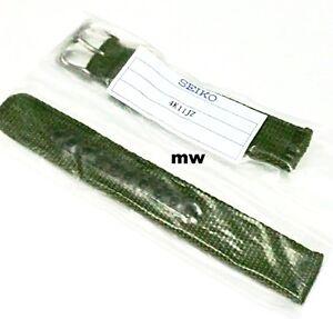 Genuine-18mm-Seiko-Model-SNK805-Strap-Model-4K11JZ-Green-Nylon-Strap-Band-Watch