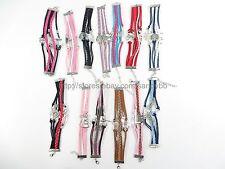US Seller - 20 pcs infinity charm bracelet wholesale jewelry lot
