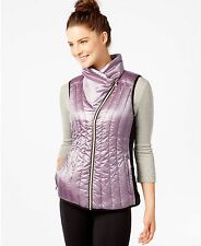 New Calvin Klein Performance Puffer Down Vest Metallic Purple Size XL XLarge NWT