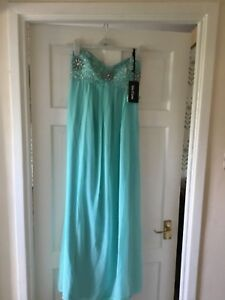Bnwt Femmes Prom/croisière Ou Bridesmad Robe Longue Taille 10 Performance Fiable