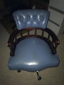 Captain-039-s-Blue-Leather-Chair