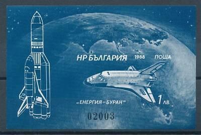 Hart Arbeitend 192320 Raumfahrt Bulgarien Block 182b** Raumfahrt Billigverkauf 50%