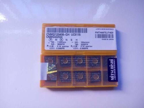 100pcs MITSUBISHI CNMG120408-GH UC5115 CNMG432GH Carbide Inserts for Cast Iron