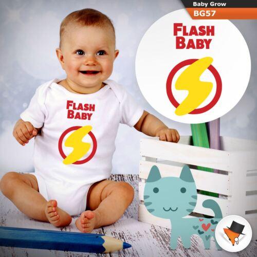 FLASH bambino divertente MARVEL Tutina BIMBO TUTTE LE TAGLIE 0-24 mesi unisex