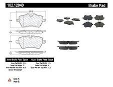 Disc Brake Pads- C-TEK Centric Metallic Brake Pads Front 102.12040