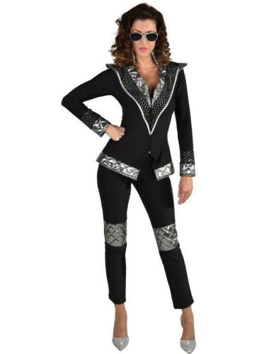 Disco King Dancing Queen Costume Costume Overall Party Rocker KISS SPACE tole Chapeau
