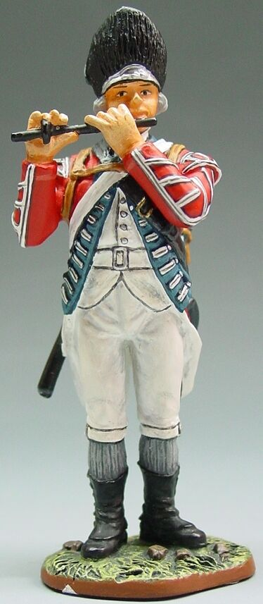 KING & COUNTRY BRITISH REVOLUTIONARY BR020 FUSILIER FIFER MIB