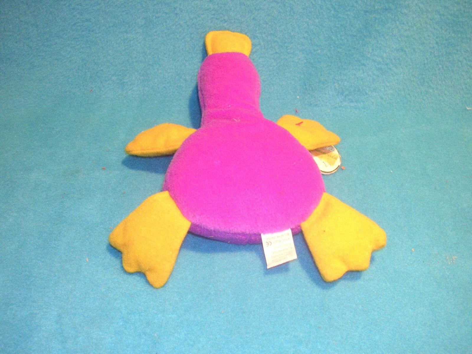 Patti Platypus Style 4025 Birth 01.06.93 with tags tags tags Original Beanie Baby w  Error 9a18ff