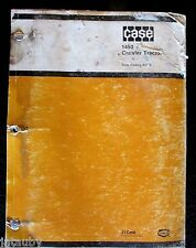 Case 1450 Crawler Tractor Parts Catalog B1328 Original Vintage