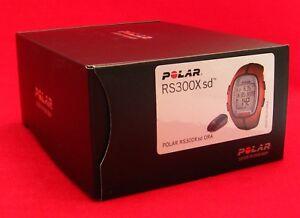 POLAR RS300X SD ORANGE HEART RATE MONITOR RUN BIKE EXERCISE FITNESS 90036631