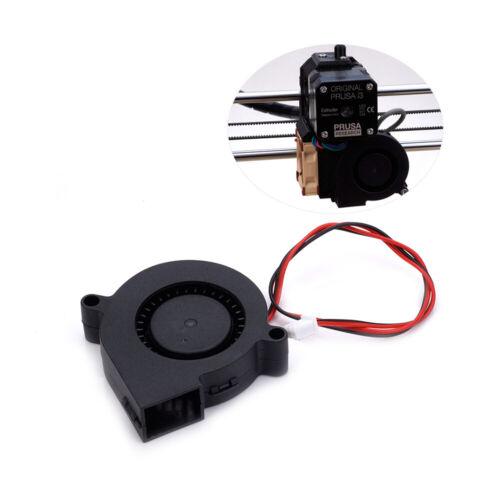 12v 5015 50*50*15mm Silent Turbo Cooling Fan for Prusa i3 3D Printer