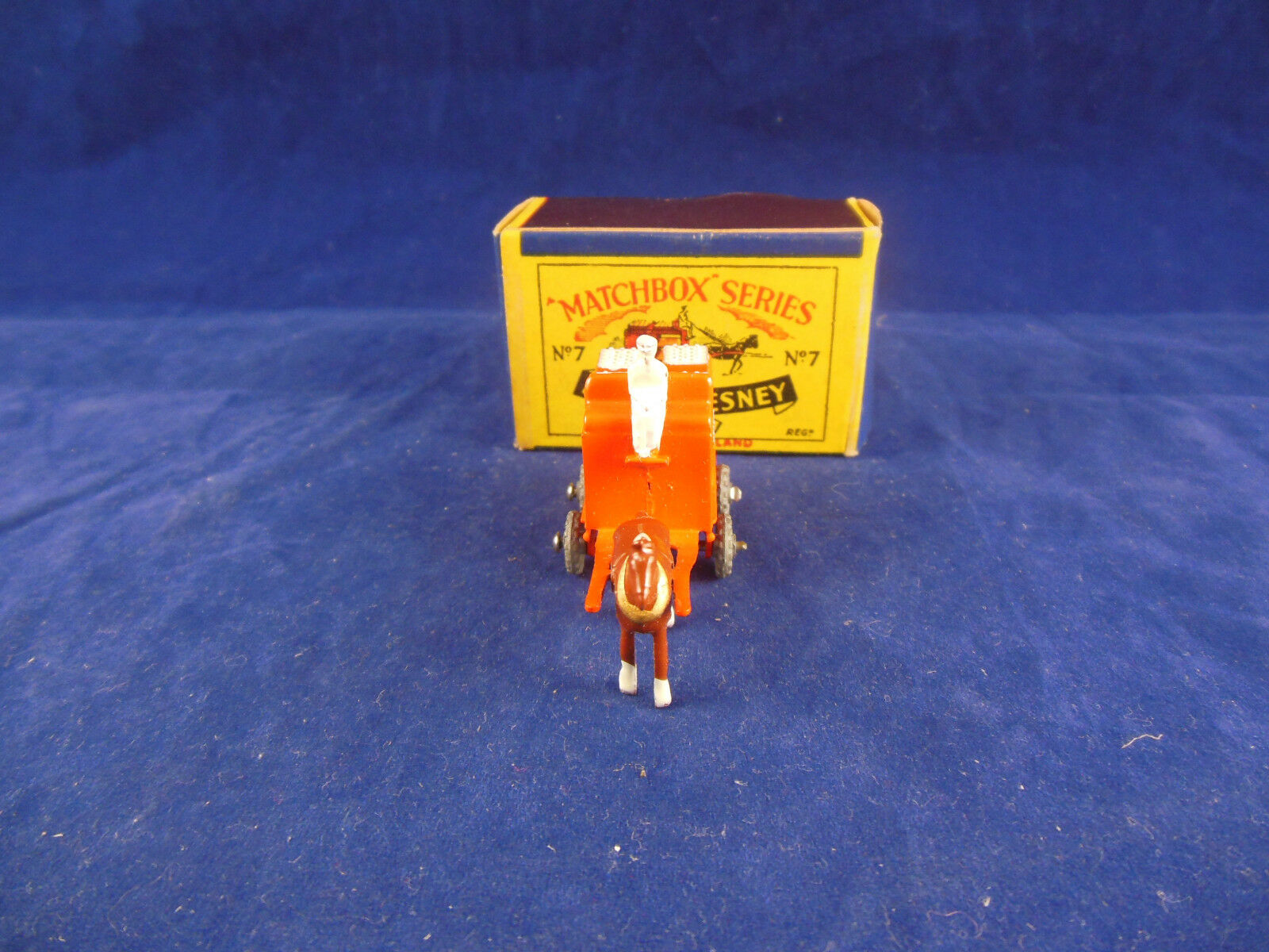 Matchbox Moko Series No 7 a a a Horse Drawn Milk Float Pasturised Original & Superb 61fe74
