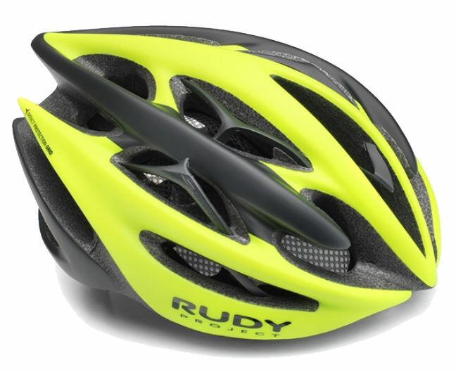 Casco Rudy Project Sterling+ Gelb Fluo schwarz Opaco - TG.L