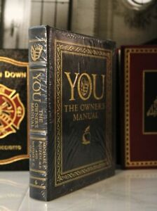 YOU THE OWNER'S MANUAL  Easton Press  Dr Roizen & Mehmet Oz - LARGER BOOK SEALED