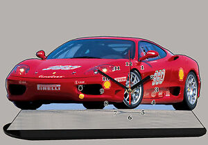 AUTO MINIATURA, FERRARI 360 MODENA-01, AUTO IN OROLOGIO MINIATURA - France - État : Neuf: Objet neuf et intact, n'ayant jamais servi, non ouvert. Consulter l'annonce du vendeur pour avoir plus de détails. ... Marca: Auto-horloge Scala: 20x30cm MPN: Non applicabile Marca del veicolo: Ferrari Colore principale: Rosso Paes - France
