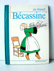 Au-travail-Becassine-Livre-d-039-occasion
