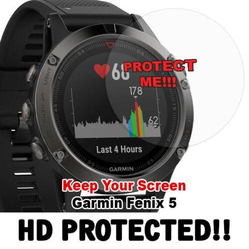 Garmin Fenix 5 HD Clear Screen protector anti scratch set of 2