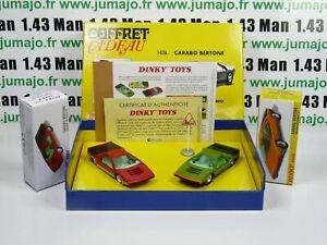 Voiture-1-43-reedition-DINKY-TOYS-atlas-1426-Coffret-Carabo-Bertone-Alfa-Romeo