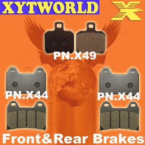 FRONT REAR Brake Pads DUCATI ST4 916 cc 2001 2002
