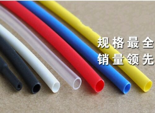 Waterproof Heat Shrink Tubing Sleeving Cable Φ1.6mm Adhesive Lined 3:1  x 5M